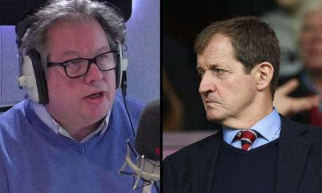 Mike Graham and Alastair Campbell
