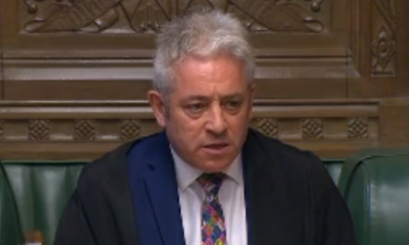 Brexit LIVE: Speaker Bercow chooses eight of the 16 indicative vote options