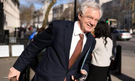 David Davis: Theresa May's deal will 'deliver Brexit' if it has 'legal force'