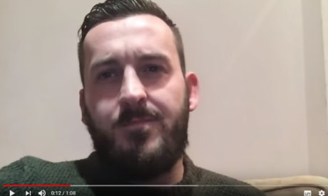 Yellow vest protester James Goddard's YouTube channel demonetised