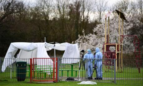 Girl stabbed to death in London park