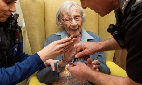104-year-old gran 'arrested' for being an upstanding citizen