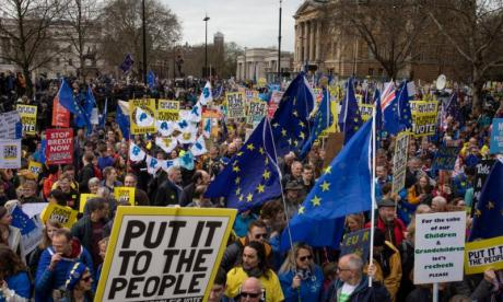 People's Vote march is 'shift in the mood of the public'