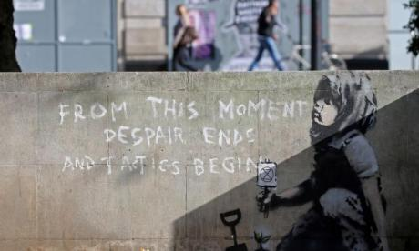 Banksy's Extinction Rebellion piece 'could be worth £1m'