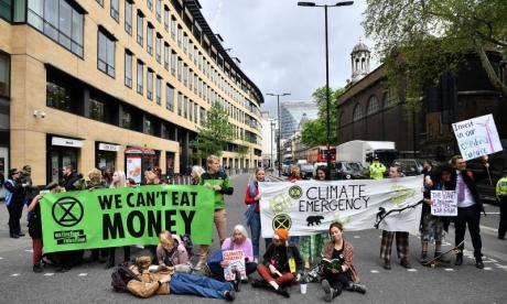 'We have to do more than signing petitions' to stop climate change