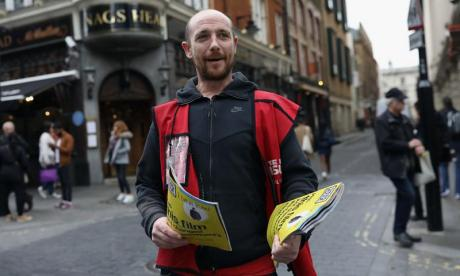 Big Issue Pay It Forward resellable magazine