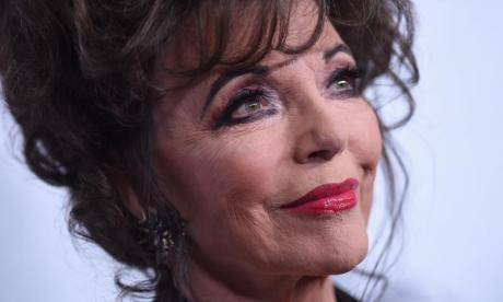 Joan Collins' flat on fire after sun on mirror sparks blaze