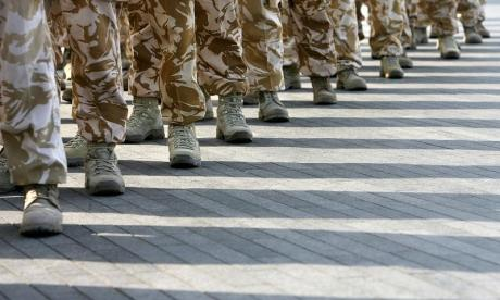 Six British soldiers arrested over sexual assault allegation