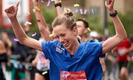 A nurse has had a decision overturned which claimed her marathon world record attempt would only count if she completed the race wearing a skirt.