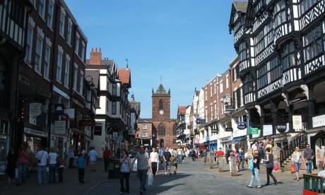 Chester named England's 'greenest area'