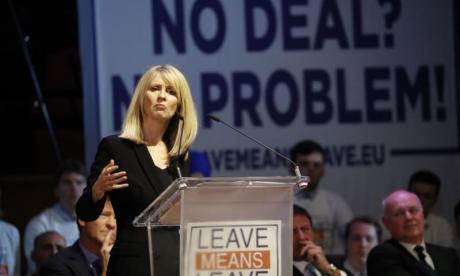 Esther McVey: October 31 Brexit deadline is 'cast in stone'