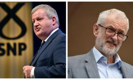 Ian Blackford Jeremy Corbyn