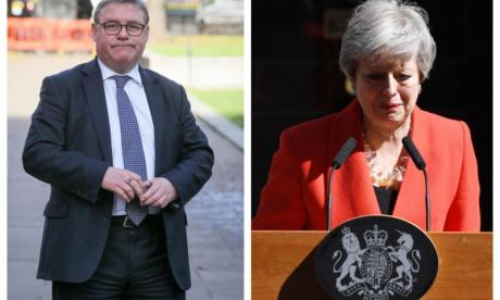 Mark Francois Theresa May