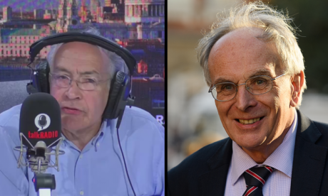 Alastair Stewart and Peter Bone