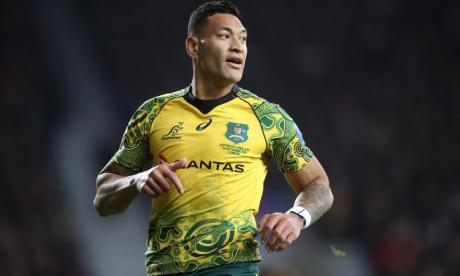 Rugby player Israel Folau sacked over homophobic social media posts