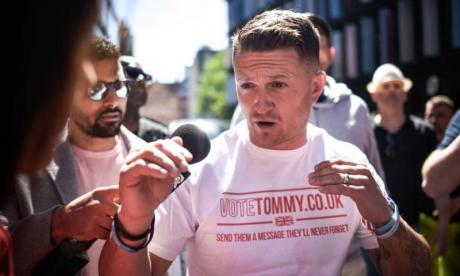 High Court judges hear latest stage of Tommy Robinson contempt case