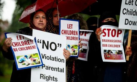 Parents protesting against LGBT teaching are 'misinformed'