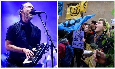 Radiohead donates money from leaked music to Extinction Rebellion