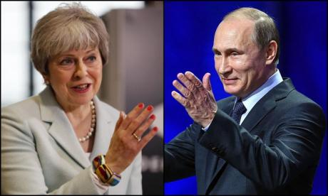 Theresa May to meet with Vladimir Putin