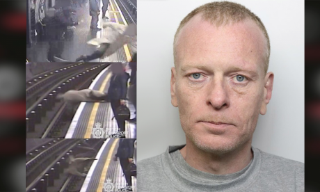 Man who pushed ex-eurotunnel boss on to Tube track jailed for life